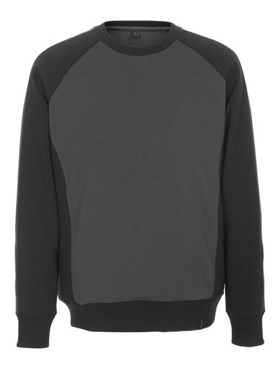 MASCOT® Witten - dark anthracite/black - Sweatshirt, modern fit