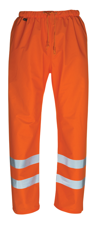 MASCOT® Wolfsberg - hi-vis orange - Rain Trousers, wind and waterproof, class 1