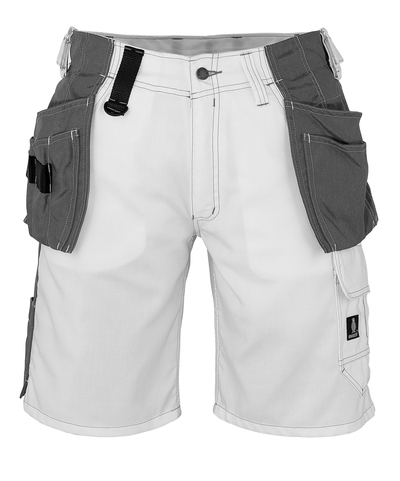 MASCOT® Zafra - white - Shorts with CORDURA® holster pockets, lightweight